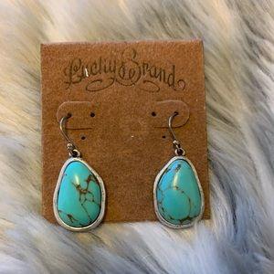 Lucky Brand Drop Stone Earrings
